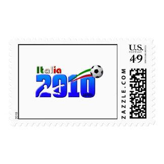 Logotipo 2010 de Italia del fútbol de Italia Sello