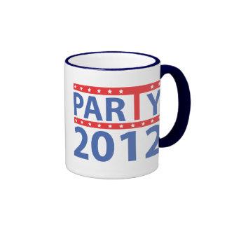 Logotipo 2012 de la fiesta del té por diseños de f tazas