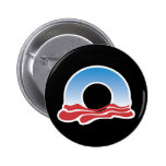 Logotipo 2012 de Obama Pin
