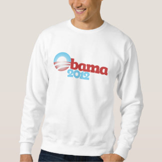 Logotipo 2012 de Obama Sudaderas Encapuchadas