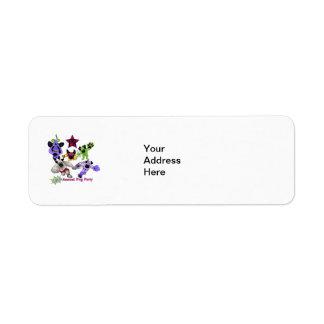 Logotipo 2013 de los barros amasados del super hér etiquetas de remite