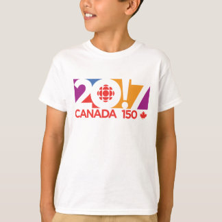 Logotipo 2017 de CBC/Radio-Canada Playera