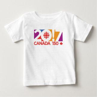 Logotipo 2017 de CBC/Radio-Canada Playera De Bebé