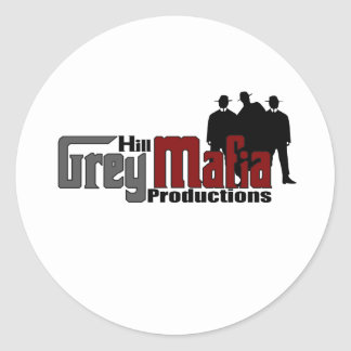 Logotipo 2,0 pegatina redonda