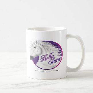 Logotipo 2 de Bella Sara Taza Básica Blanca