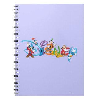 Logotipo 2 de Disney Note Book