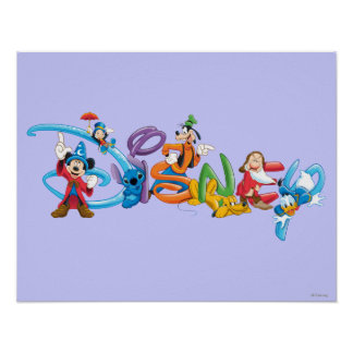 Logotipo 2 de Disney Impresiones