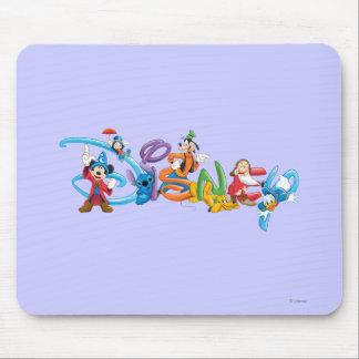 Logotipo 2 de Disney Alfombrilla De Raton