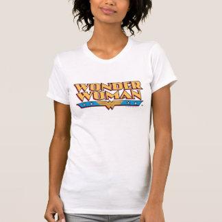Logotipo 2 de la Mujer Maravilla Camiseta