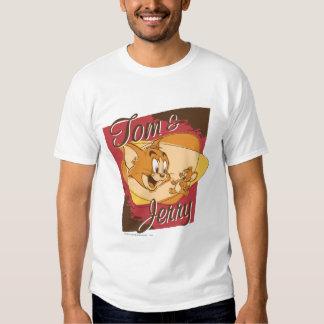 Logotipo 2 de Tom y Jerry Remera