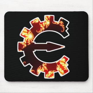 Logotipo 2 del motor del tramposo - fractal alfombrilla de ratón