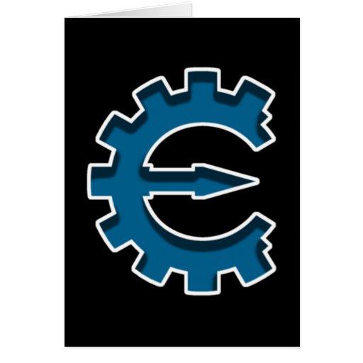 Logotipo 2 del motor del tramposo tarjeta pequeña