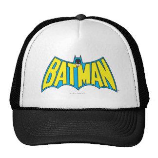 Logotipo 2 del vintage de Batman Gorros Bordados
