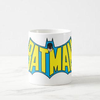 Logotipo 2 del vintage de Batman Taza