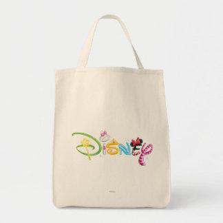 Logotipo 3 de Disney Bolsa Tela Para La Compra