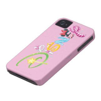 Logotipo 3 de Disney Case-Mate iPhone 4 Cárcasa
