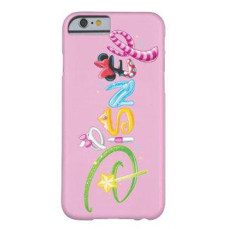 Logotipo 3 de Disney Funda Para iPhone 6 Barely There