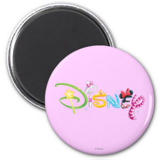 Logotipo 3 de Disney Imán Redondo 5 Cm