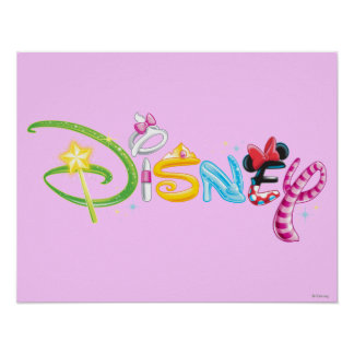 Logotipo 3 de Disney Posters