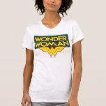 Logotipo 3 de la Mujer Maravilla Camisetas