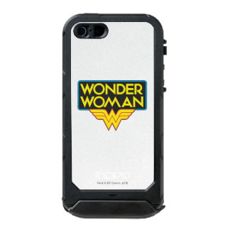 Logotipo 3 de la Mujer Maravilla Carcasa De Iphone 5 Incipio Atlas Id