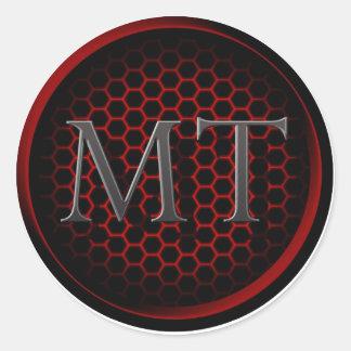 """Logotipo 3"""" de la TA pegatina"""