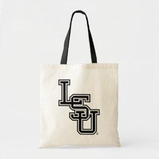 Logotipo 4 de LSU que entrelaza Bolsa De Mano