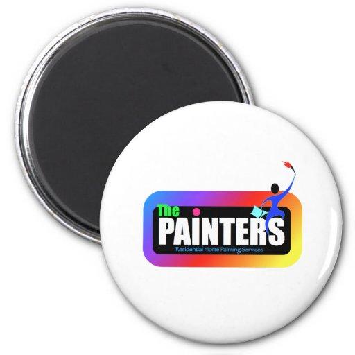 logotipo 4 del pintor imán para frigorífico
