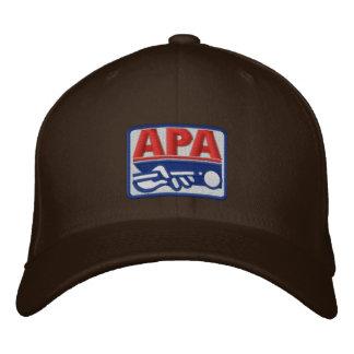 Logotipo a todo color de APA Gorro Bordado