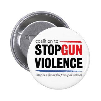 Logotipo actual de CSGV Pin