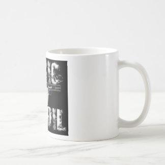 logotipo acústico del retroceso taza clásica