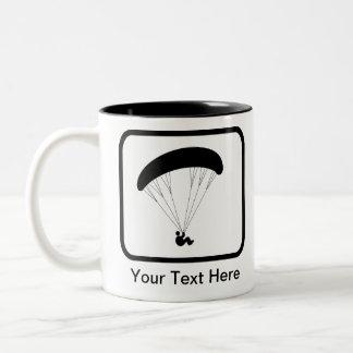 Logotipo adaptable del ala flexible taza de café
