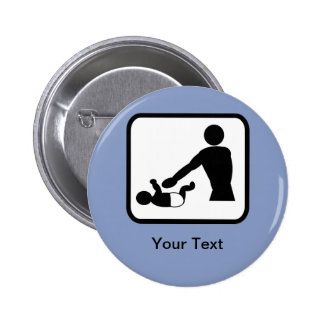 Logotipo adaptable del cambio del bebé para un nue pin