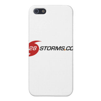 Logotipo agudo de 28storms com iPhone 5 cárcasa