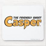 Logotipo amarillo de Casper Alfombrillas De Ratones