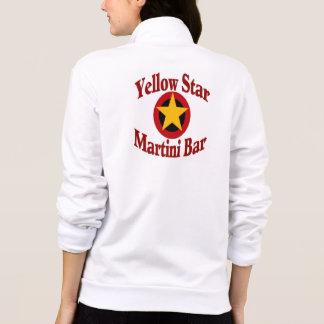 Logotipo amarillo de la barra de Martini de la est Chaquetas Imprimidas