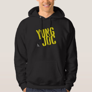 Logotipo amarillo de Yung Joc Sudadera