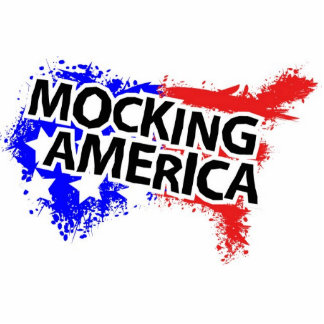 Logotipo americano de la firma que imita fotoescultura vertical