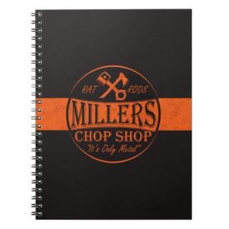 Logotipo anaranjado de Roces de la rata Cuadernos