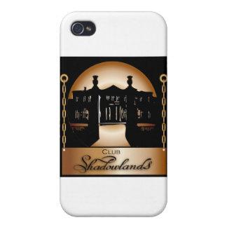 Logotipo anaranjado de Shadowlands iPhone 4 Protector