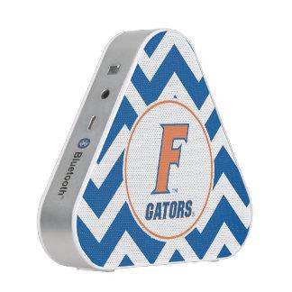 Logotipo anaranjado y azul de la Florida F Altavoz