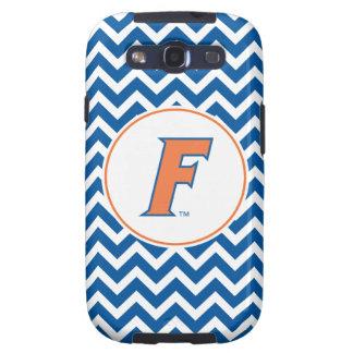 Logotipo anaranjado y azul de la Florida F Galaxy S3 Cobertura