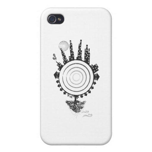 Logotipo animal programable iPhone 4/4S carcasa