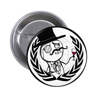 Logotipo anónimo de LulzSec Pin