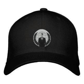 logotipo anónimo gorras de béisbol bordadas