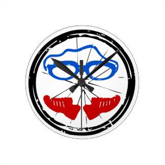 Logotipo anormal del Triathlon Reloj