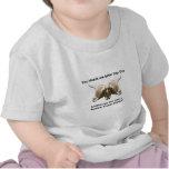 Logotipo antinuclear de dos cabezas camisetas