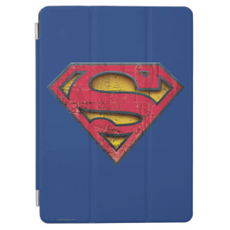 Logotipo apenado el | del S-Escudo del superhombre Cover De iPad Air