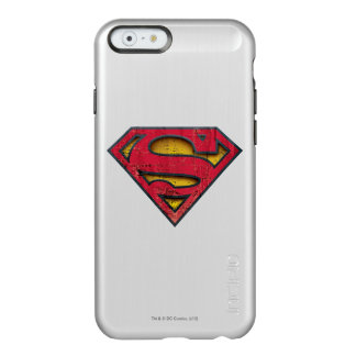 Logotipo apenado el | del S-Escudo del superhombre Funda Para iPhone 6 Plus Incipio Feather Shine