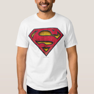 Logotipo apenado superhombre remera